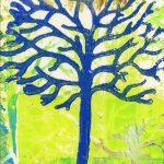 Blue tree 17B
