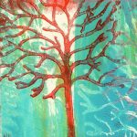 Red tree 17A